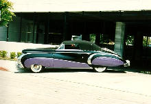 Cadillac 62 Convertible Coupe Saoutchik Side View  (1948)