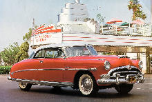 Hudson Hornet Hollywood Hardtop Red (1953)