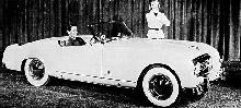 Nash Healey Roadster B/W  (1954)
