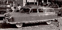 Nash Rambler Custom Country Club B/W  (1954)