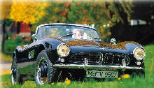 BMW 507 Black Front view (1955)