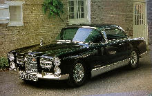 Facel Vega Fv4 Typhoon Black (1957)