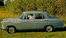 Austin A60 Cambridge Saloon Side view  (1962)