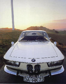 BMW 2000 CS, Front view (1965)