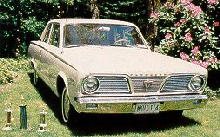 Plymouth Valiant Grille  (1966)