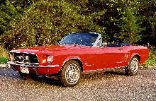 Ford Mustang Convertible Front ViewNew 1 (1967)