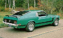 Ford Mustang Boss 302 Fastback Rvr  (1970)