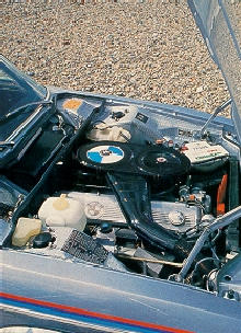 BMW 3.0csa Coupe Engine (1974)