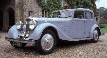 Bentley 3.7 Litre Park Ward (1934)