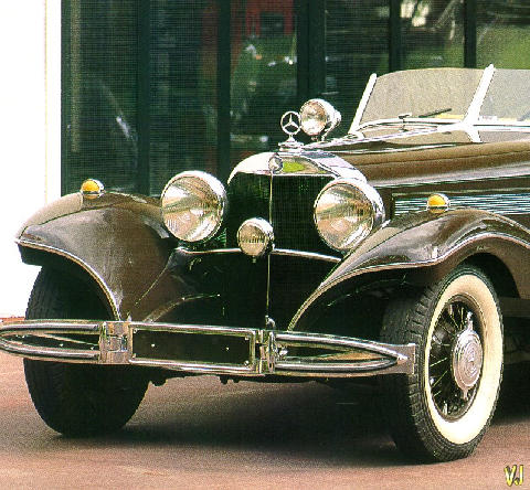 Mercedes Benz 500k Roadster   Front (1935)