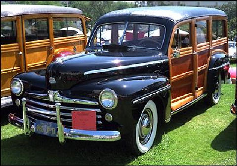 Ford Station Wagon Front View(1947)