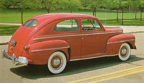 Ford Super Deluxe Tudor Sedan  (1947)