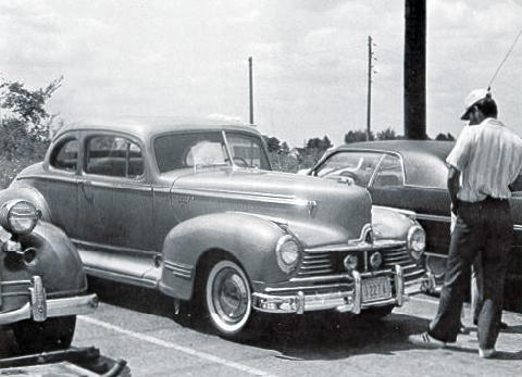 Hudson Commodore 6 Coupe B/W  (1947)