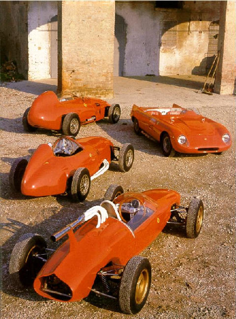 60s Stanguellinis 4 Cars  (1950)