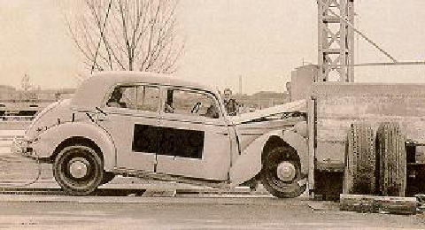 Mercedes Benz 170 Crashtest  (1951)