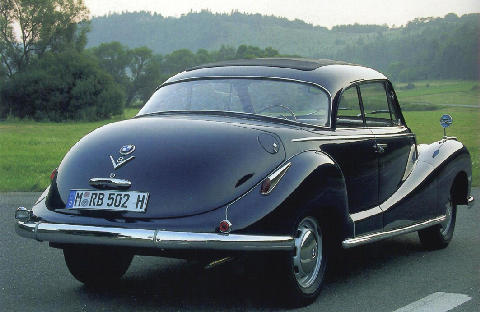 BMW 502 Coupe By Baur Rear view (1955)