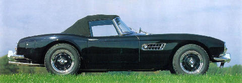 BMW 507 Black Side view (1955)