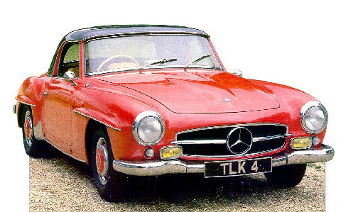 Mercedes Benz 190SL (1955)