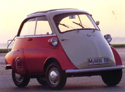 BMW 250 Isetta Front view (1956)