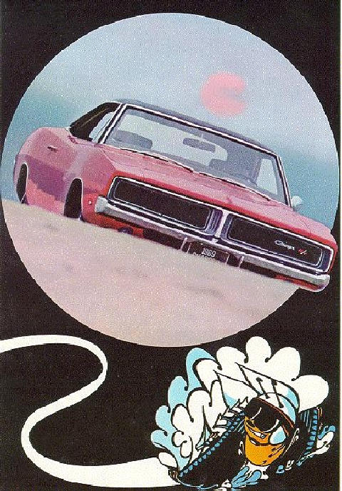 Dodge Charger R T Ad (1969)