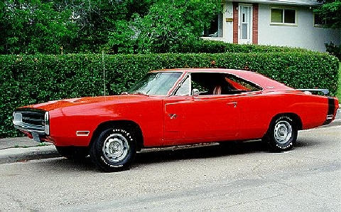 Dodge Charger R T Red (1970)