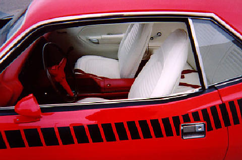 Plymouth Barracuda Aar Hardtop Interior (1970)