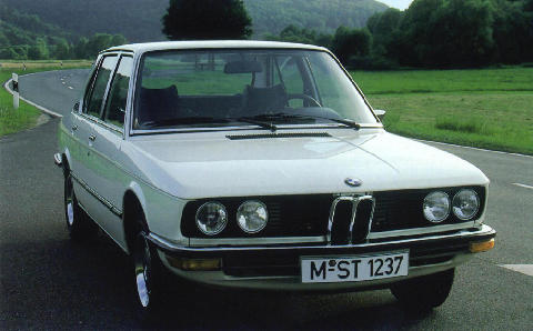 BMW 520 Front view (1972)