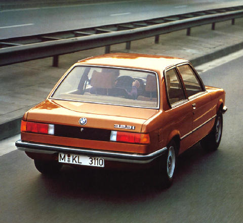 BMW 323i Rear view (1977)
