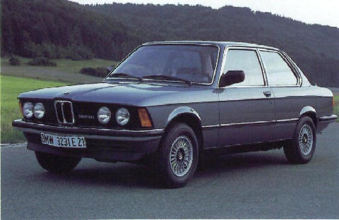 BMW 323i Side view (1978)