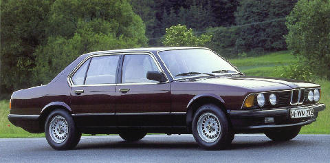 BMW 728i Side view (1979)