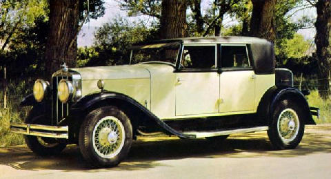 Franklin Series13 Speedster 1929 Picture Gallery