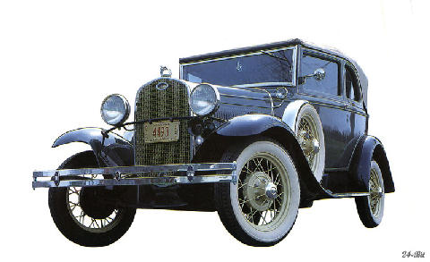 ford Model A Convertible (1931)