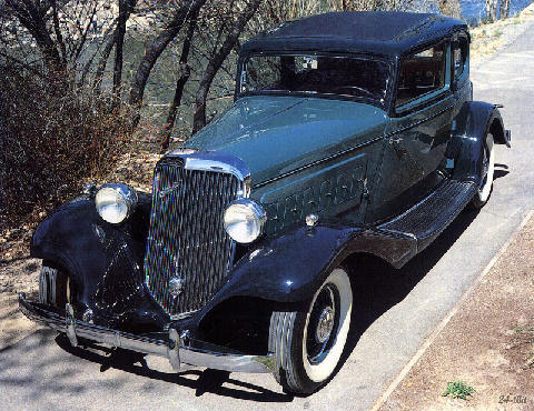 franklin Series 17b V12 Brougham (1933)