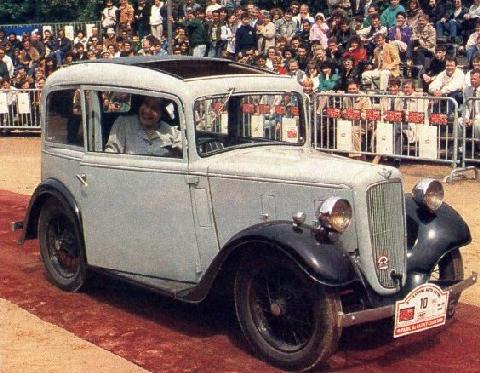 Types Of Car Models >> Austin 7 Ruby - Vehicle Summary - Motorbase