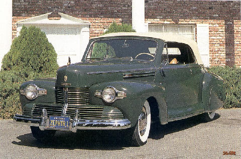 Lincoln Zephyr Coupe (1942)