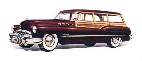 Buick Roadmaster Estate Wag (1950)