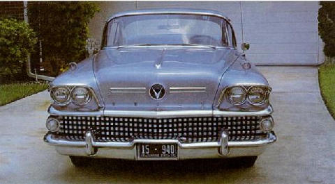 Buick Century Grille (1958)