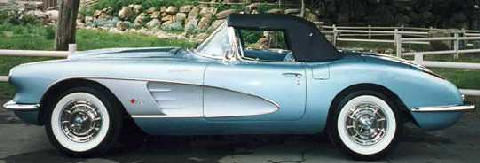 Chevrolet Corvette Silverblue (1958)