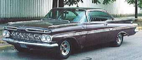 Chevrolet Impala Purple (1959)