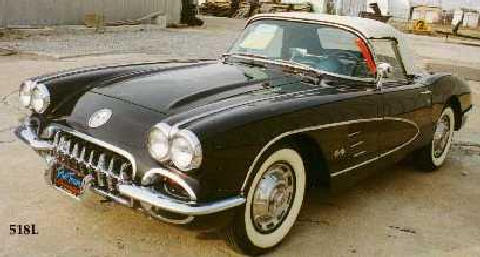 Chevrolet Corvette Black2 (1959)
