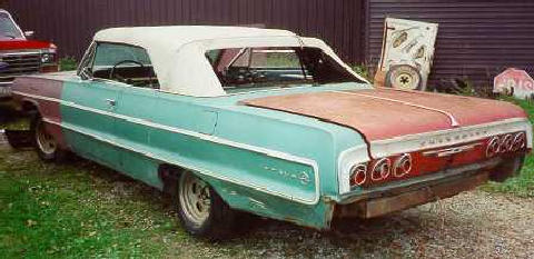 Chevrolet Impalaconvert Project (1964)