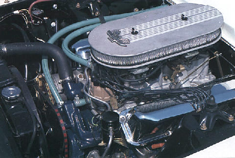 ford 427 W 2 4 Bblcarbs Engine (1966)