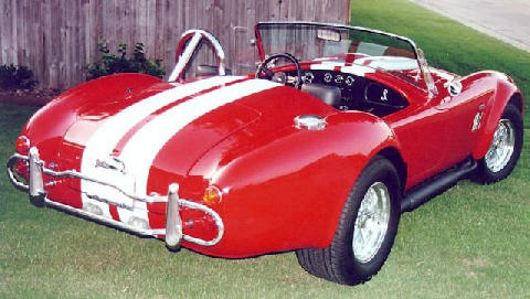 Shelby Cobra 427 Red B (1966)