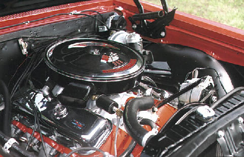 Chevrolet SS396 Engine (1967)