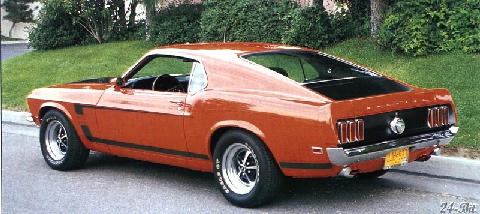 Ford Mustang Boss 302 2 (1969)