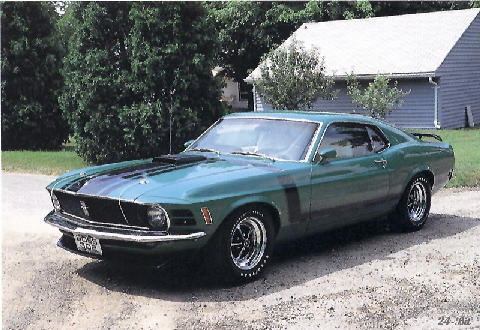 Ford Mustang Boss 302 3 (1970)