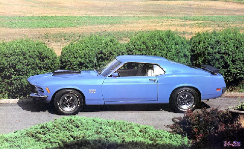Ford Mustang Boss429 (1970)