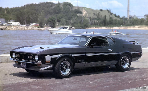 Ford Mustang Boss 351 (1971)