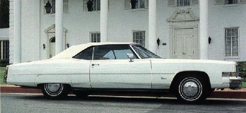 Cadillac Fleetwood Eldorado Convertible - Motorbase