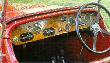 Aston Martin International   Dash (1930)